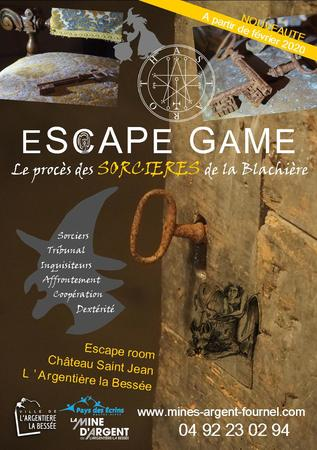 Flyer Escape Chateau Fev 2020